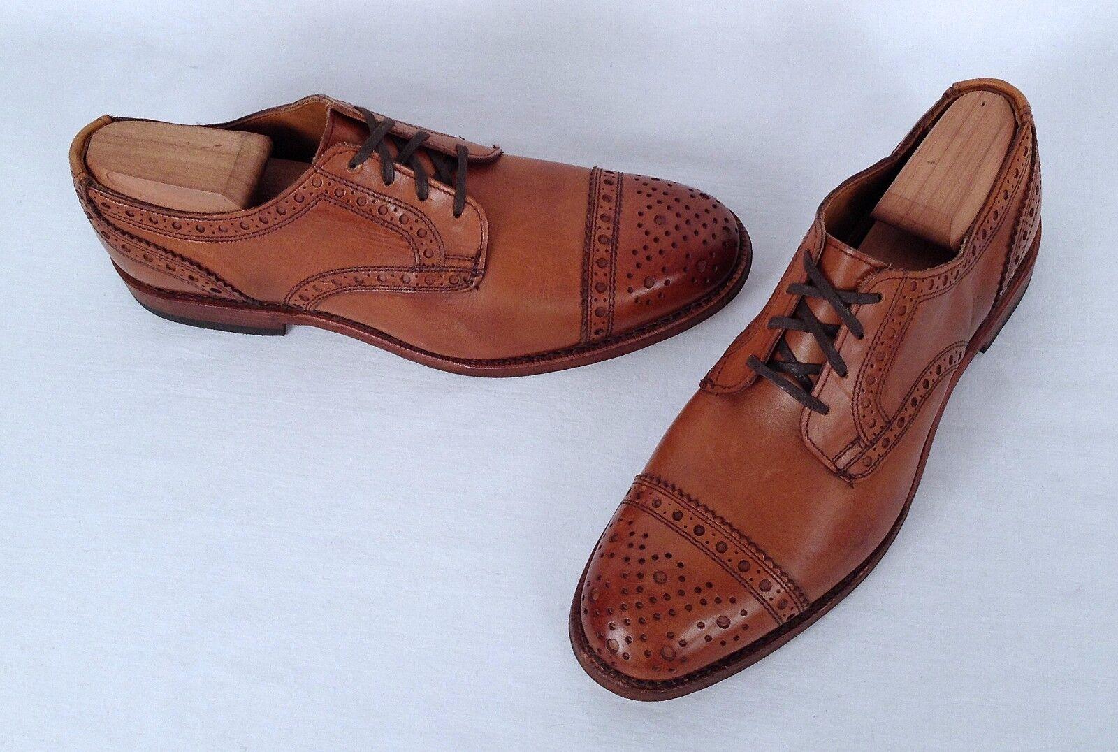 Allen Edmonds 'Warwick' Oxford - Walnut- Size 8 D  $385