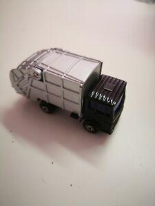 Coche-modelo-maisto-camion-camion-de-basura-procedentes-de-sin-usar-coleccion-vitrinas-modelo