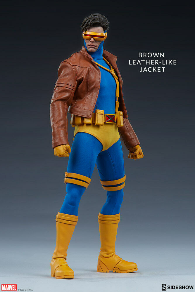 "Sideshow Marvel Comics X-Men Cyclops 1/6 Scale 12"" Action Figure In Stock USA on eBay thumbnail"