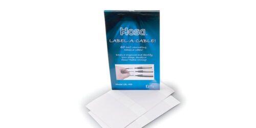 Hosa LBL-466 Label A Cable Kit 60 Peel Off Labels