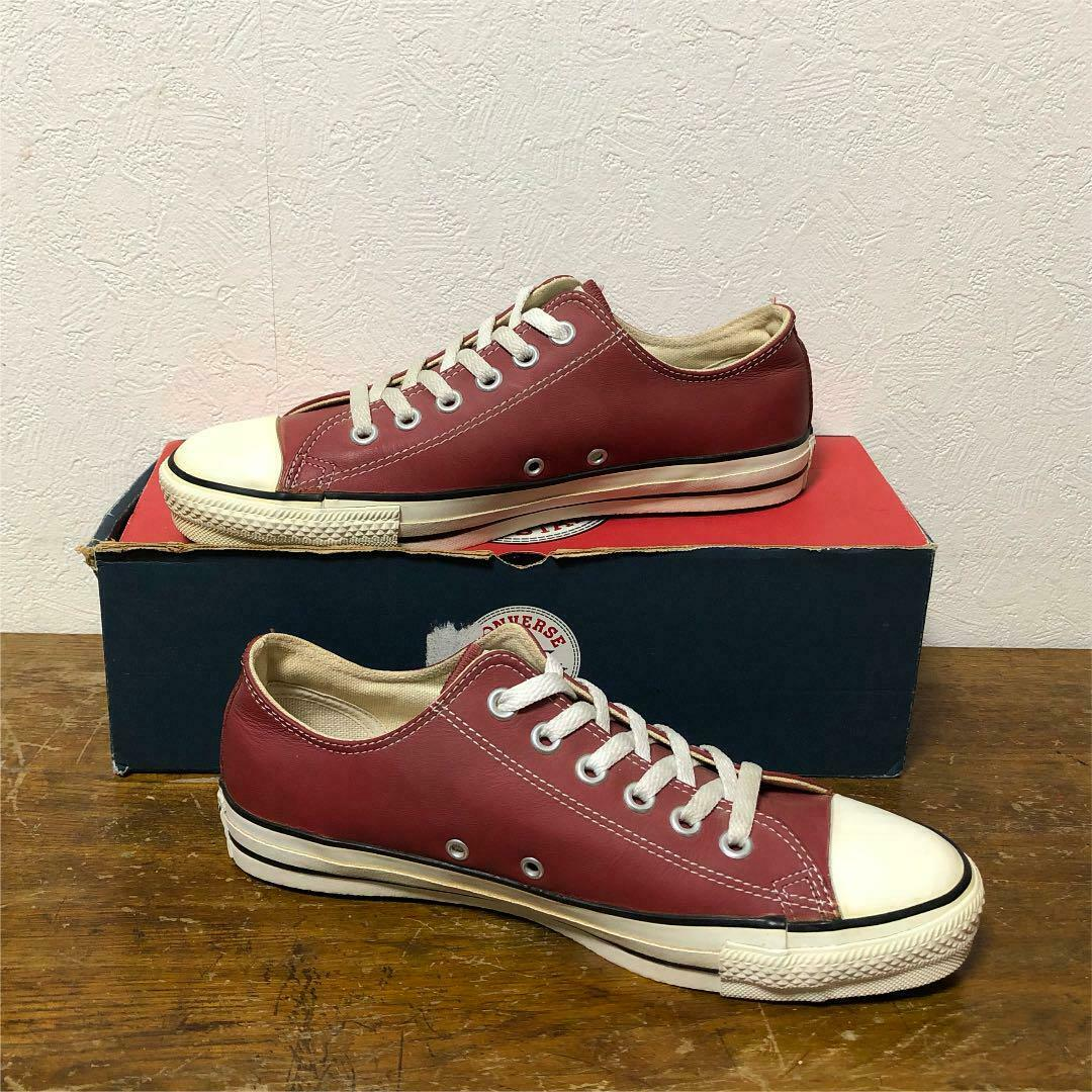 Converse All Star OX Faible paniers Taille 7 Dead Stock années 90 vintage made in USA