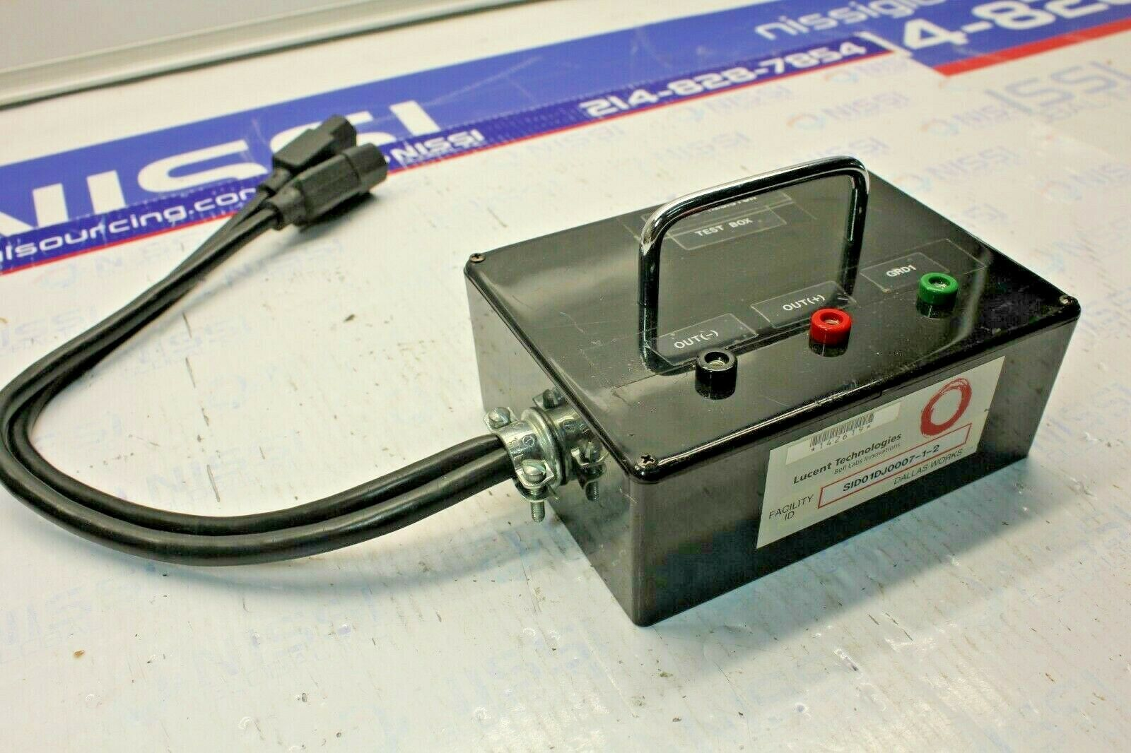 LUCENT TECHNOLOGIES SID01DJ0007-1-2 HIPOT REISITOR TEST BOX
