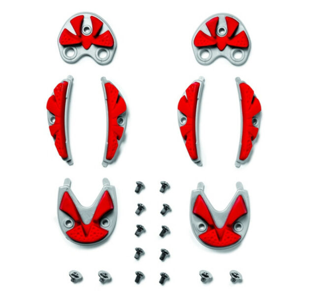 Sidi SRS MTB Carbon Ground Inserts Red Size 45/48