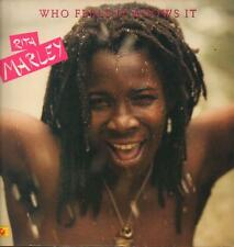 Rita Marley(Vinyl LP)Who Feels It Knows It-Hansa-201 871-France-1980--VG/NM