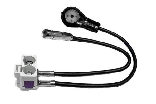 Original Kufatec Antennenadapter Diversity für Audi Navigation RNS-D auf RNS-E