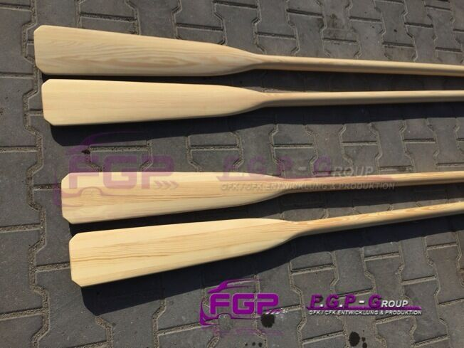 NEU 2x Holz Ruder  Paddel Paddel Paddel  Holzpaddel Holzruder 165cm - 180cm - 195cm 4e306f
