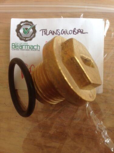Range Rover Classic 300tdi Brass Radiator Thermostat Plug Bearmach Brand