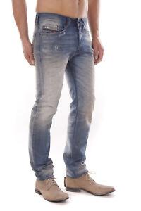 Diesel-Buster-0850Q-Herren-Jeans-Hose-Slim-Tapered