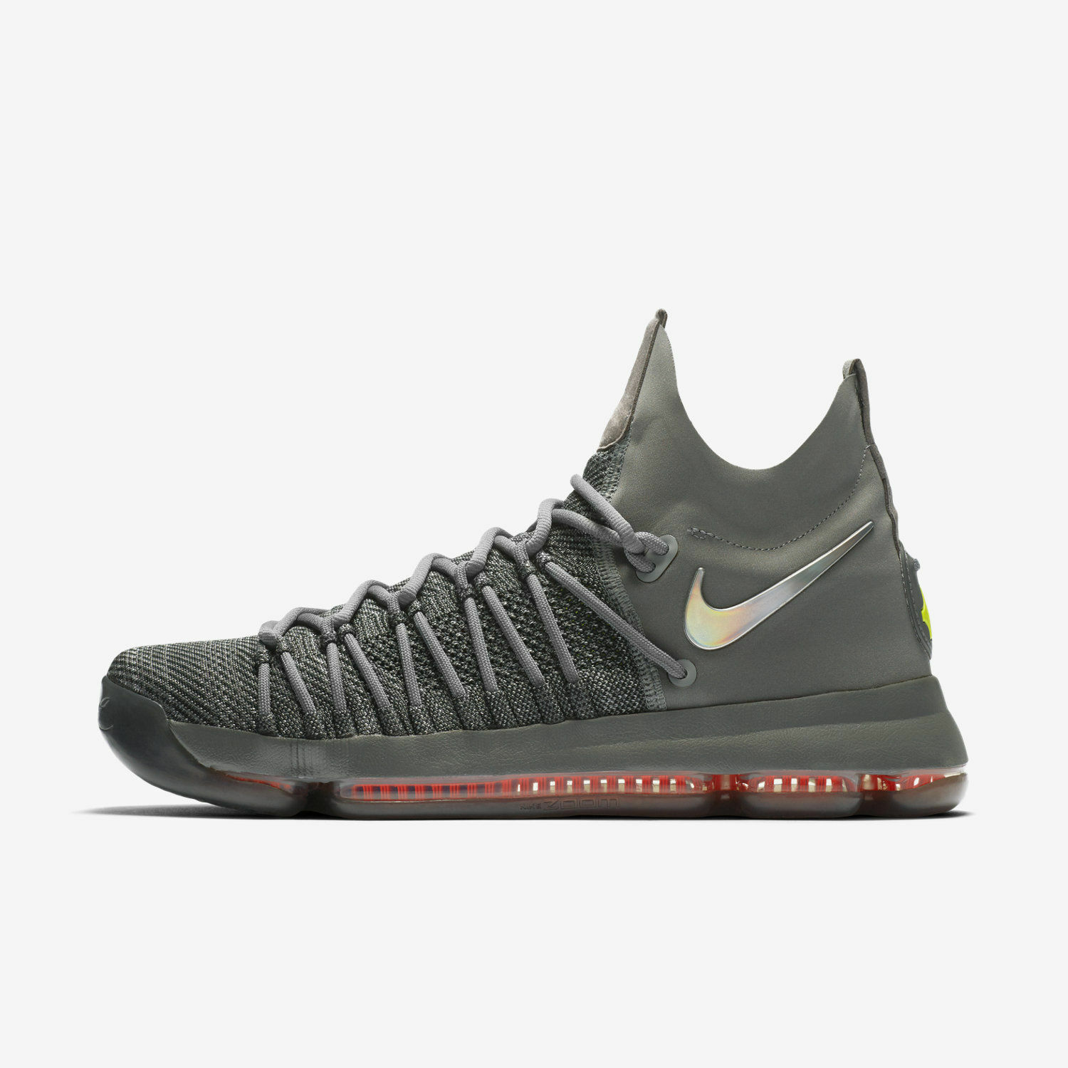 Nike Zoom KD 9 Elite TS size 12.5. Time to Shine. Kevin Durant. Grey 909139-013