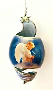 Starlight Blessings 2001 Porcelain Angel Ornament Twinkle Twinkle Little Star