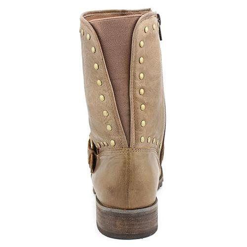 Corso Leather Como 7465 Donna Seminole Havana Brown Leather Corso Ankle Boots Size 6 d5eeb7