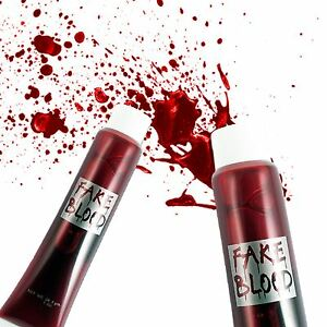 how to make fake blood for halloween