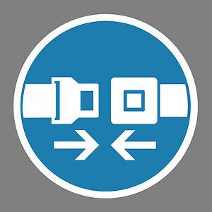 Sicherheitsgurt-benutzen-Aufkleber-Sticker-Schild-Hinweis-Verbotsschild