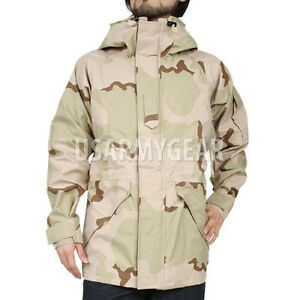 New US Army Cold Wet Weather Gen 1 ECWCS DESERT Goretex Parka ...