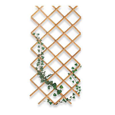 Traliccio estensibile regolabile 60x240cm bamboo giardino balcone piante 483