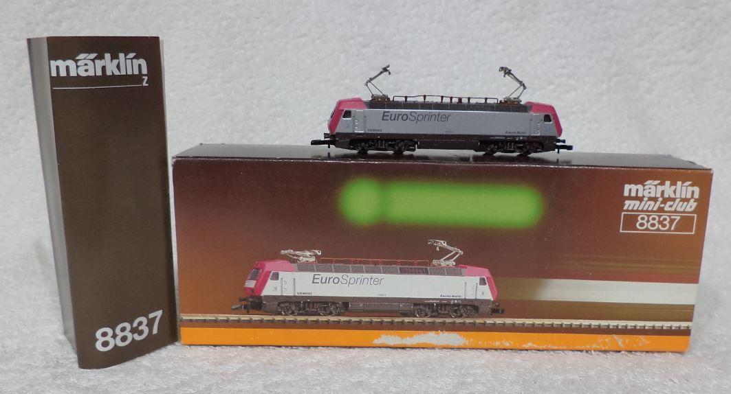 Marklin 8837 mini club 127 001-6 Euro Sprinter led lichten sluitlichten
