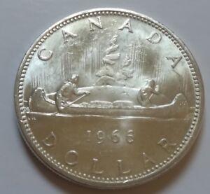 NICE GRADE UNC. 1971 Canada One Dollar Coin