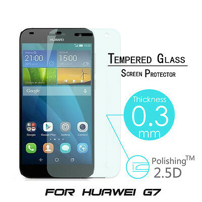 9H Premium Tempered Glass Film Cover Guard Screen Protector For Huawei Ascend G7