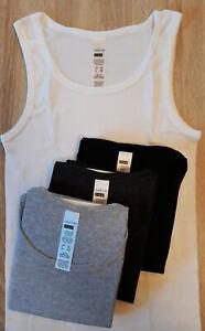 2er Pack ERGEE Herren Unterhemd Tanktop weiß Größe S,M,L,XL