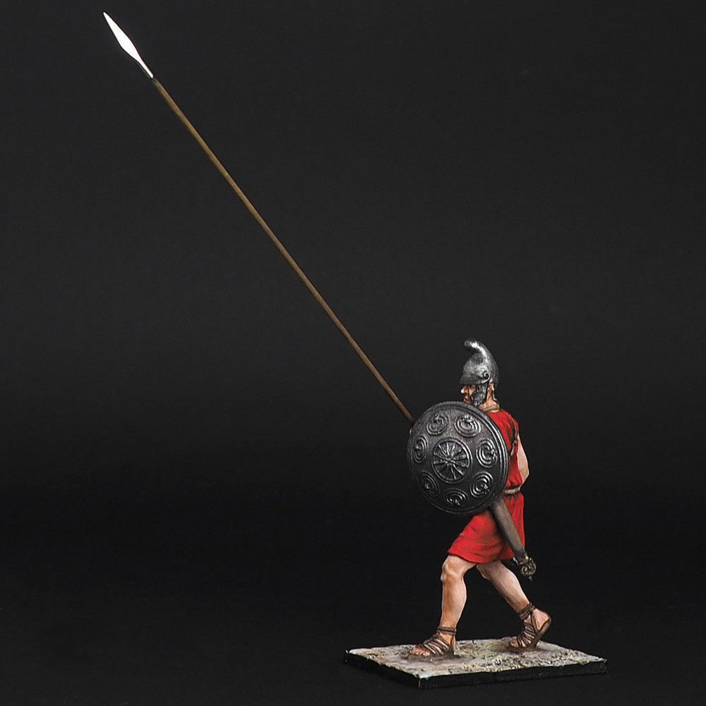 Tin Soldier, Phalange of middle rows, the army of Pyrrh, Pyrrh, Pyrrh, ANCIENT WARRIORS, 54 mm 647760
