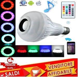 E27-BLUETOOTH-Senza-fili-Led-RGB-Lampadina-Musica-Lampada-Altoparlante-distanza