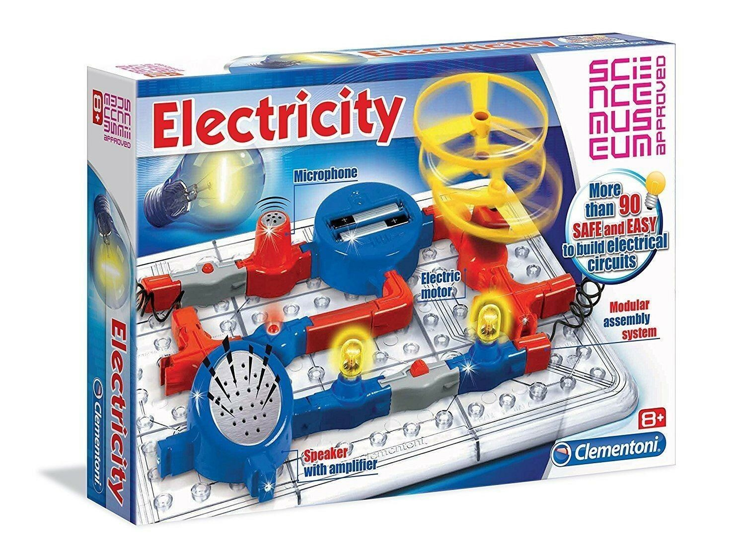 BRAND NEW & SEALED Clementoni Science & Play Electricity Age 8+