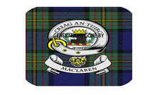 MAC LAREN CLAN GLASS KITCHEN CHOPPING BOARD
