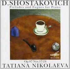 Tatiana Nikolayeva, Piano. Shostakovich. Preludes & Fugues Op.87.