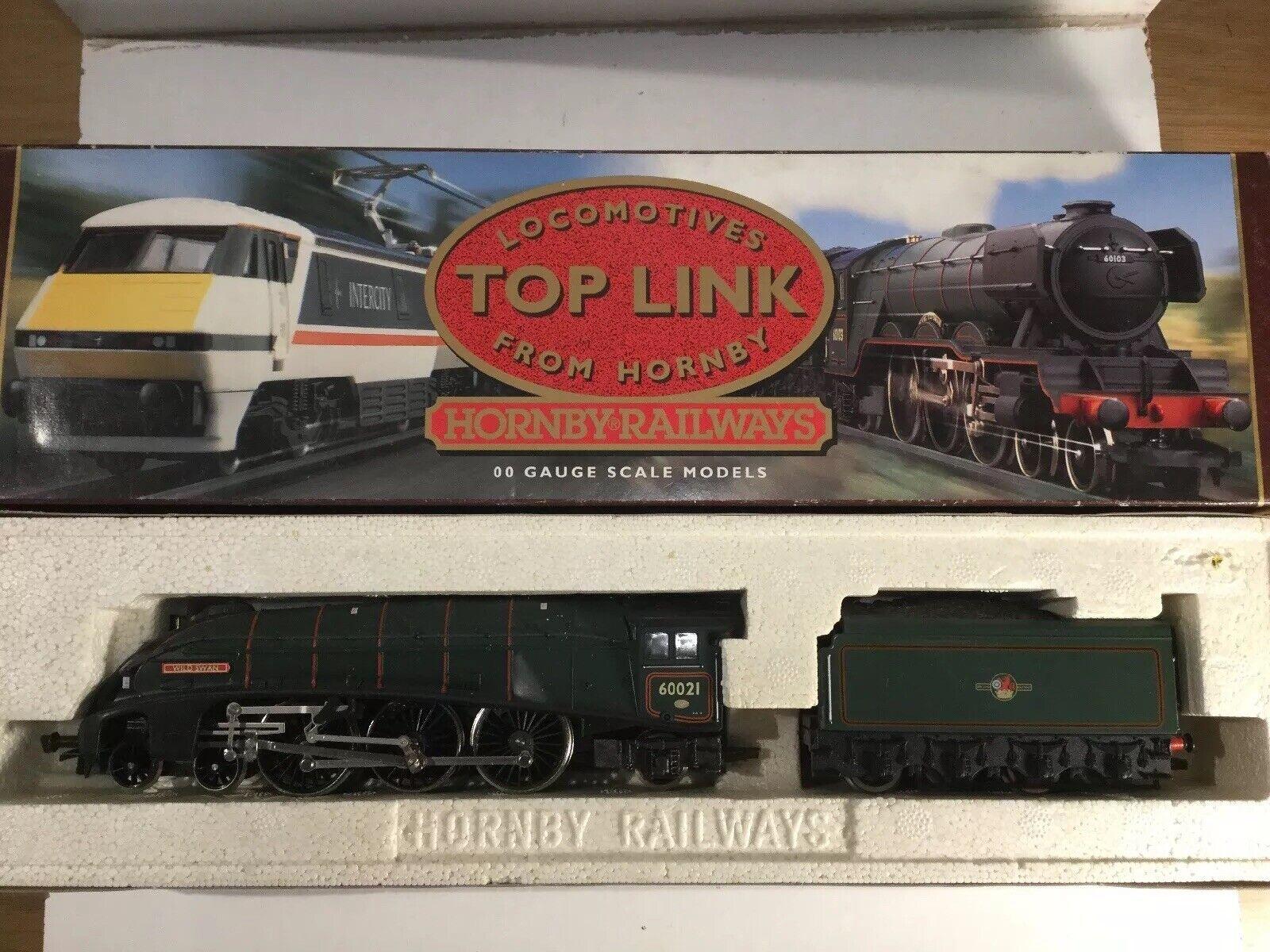 Hornby OO Gauge R286 BR 4-6-2 Locomotive Wild Wild Wild Swan classe A4 scatolaed cd1de9