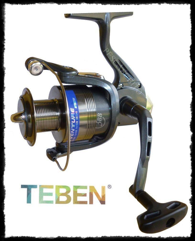 Mulinello Teben Live Venture 4BB frizione anteriore pesca mare mare pesca lago fiume barca 2328b5