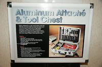 Test-rite Products Corp Aluminum Attach'e & Tool Chest- In Box