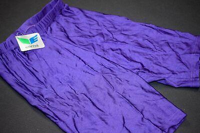 Erima Pantaloncini Short Radler Pantaloni Tights Pant Vintage Nylon Elastan Lilla 3 Xs-s Ne-mostra Il Titolo Originale