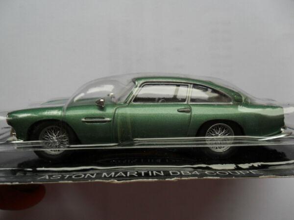 Aston Martin Db4 Coupé De Sport Diecast Modèle Scellé Sous Blister Pack 007 Bond 1/43 Divers Styles