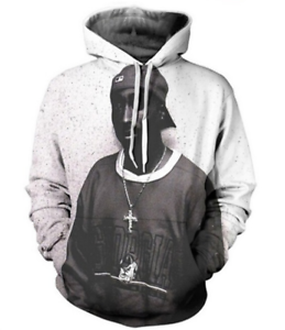 HOT Men//women HIP HOP TUPAC 3D Print Sweatshirt Hoodies Tops Pullover S-5XL KH2