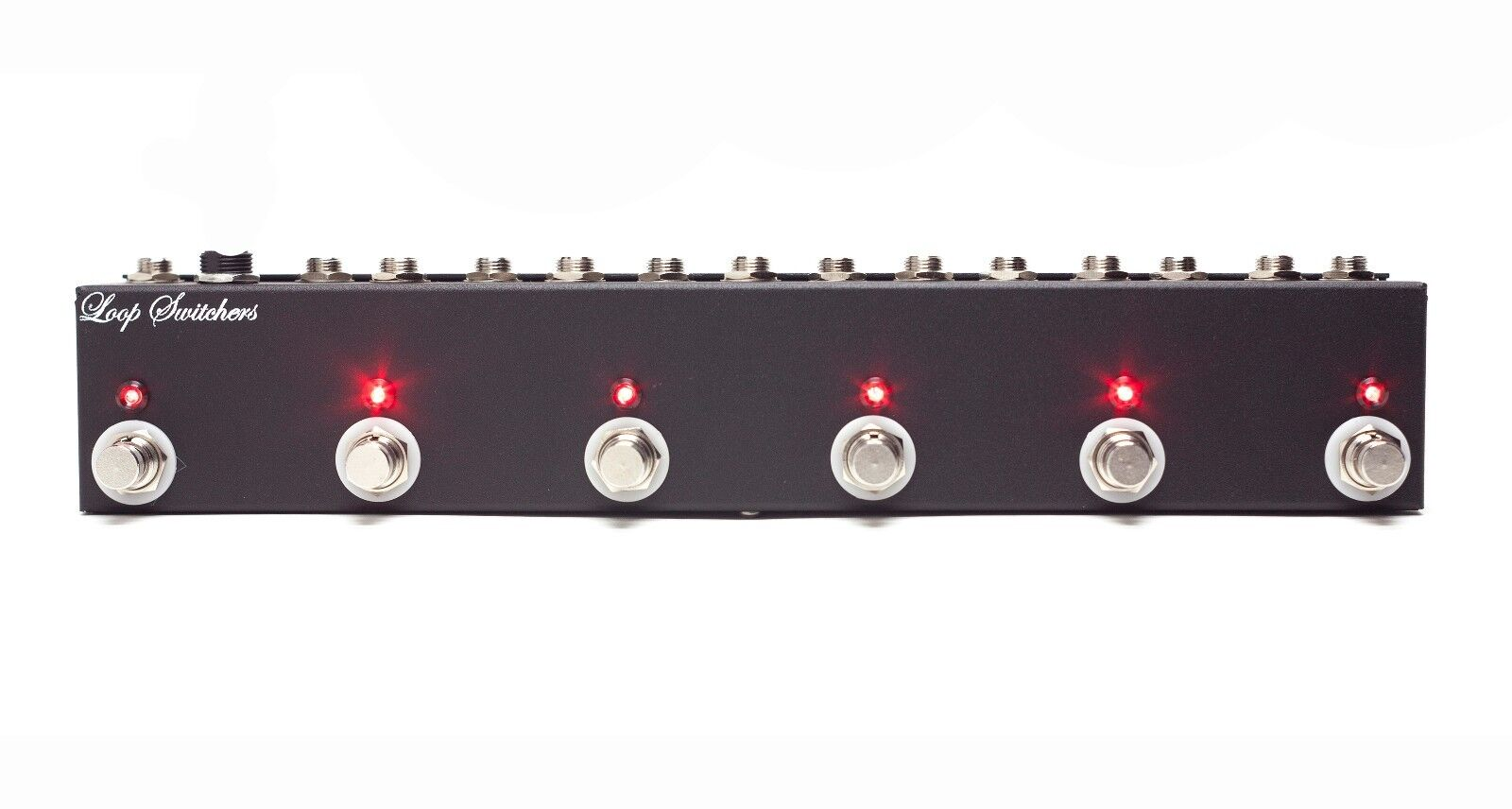LOOP SWITCHERS 6 CHANNEL TRUE BYPASS SWITCH MASTER LOOPER