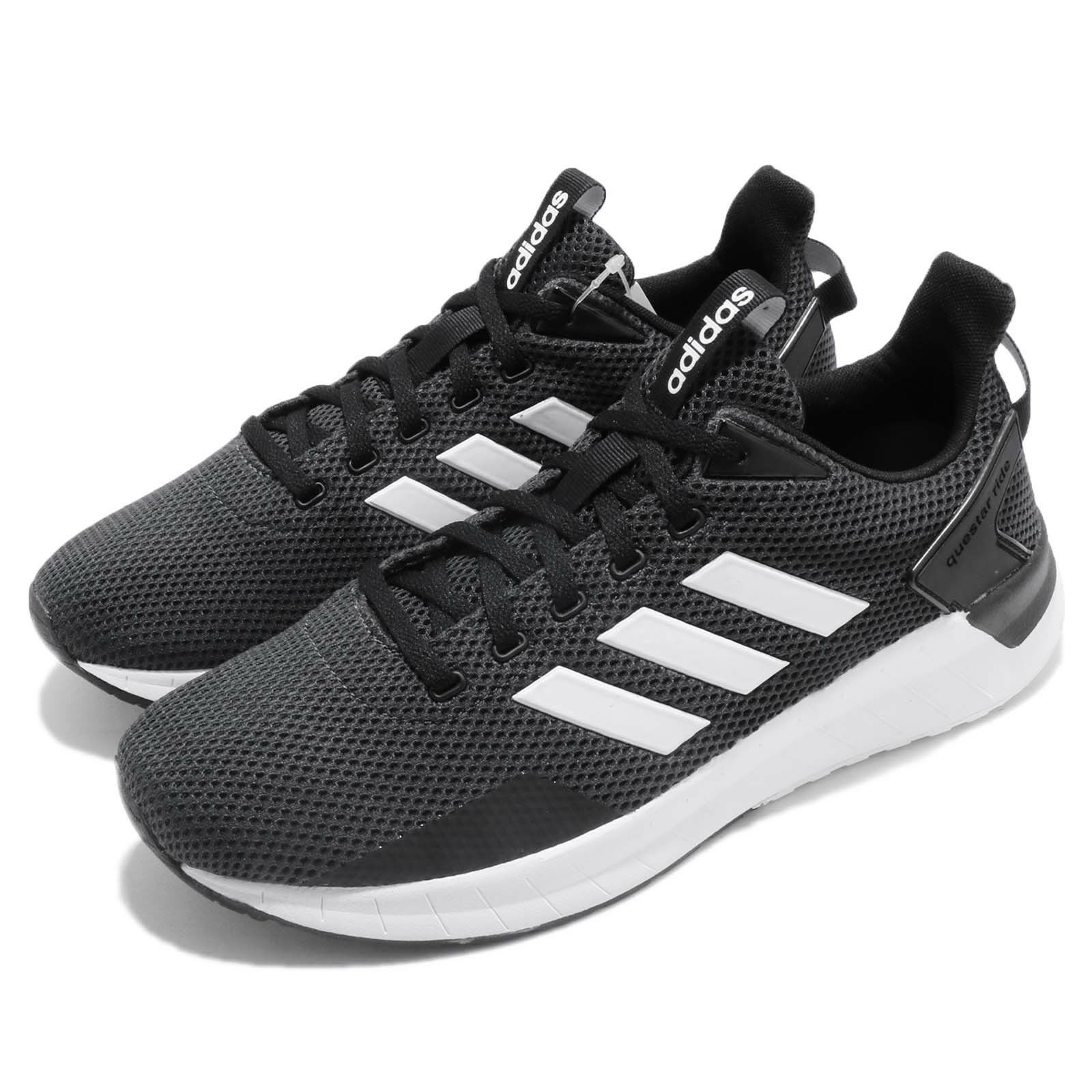 49fdd971410 ... new style adidas questar ride black white carbon running running  training shoes sneaker db1346 51f50a 7c9f3