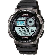 Casio AE1000W-1BV, Digital Watch, Chronograph, 5 Alarms, 10 Year Battery