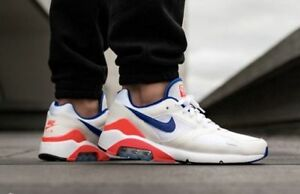 huge discount c6f59 428dd Image is loading NIKE-AIR-MAX-180-OG-BLUE-RED-ULTRAMARINE-