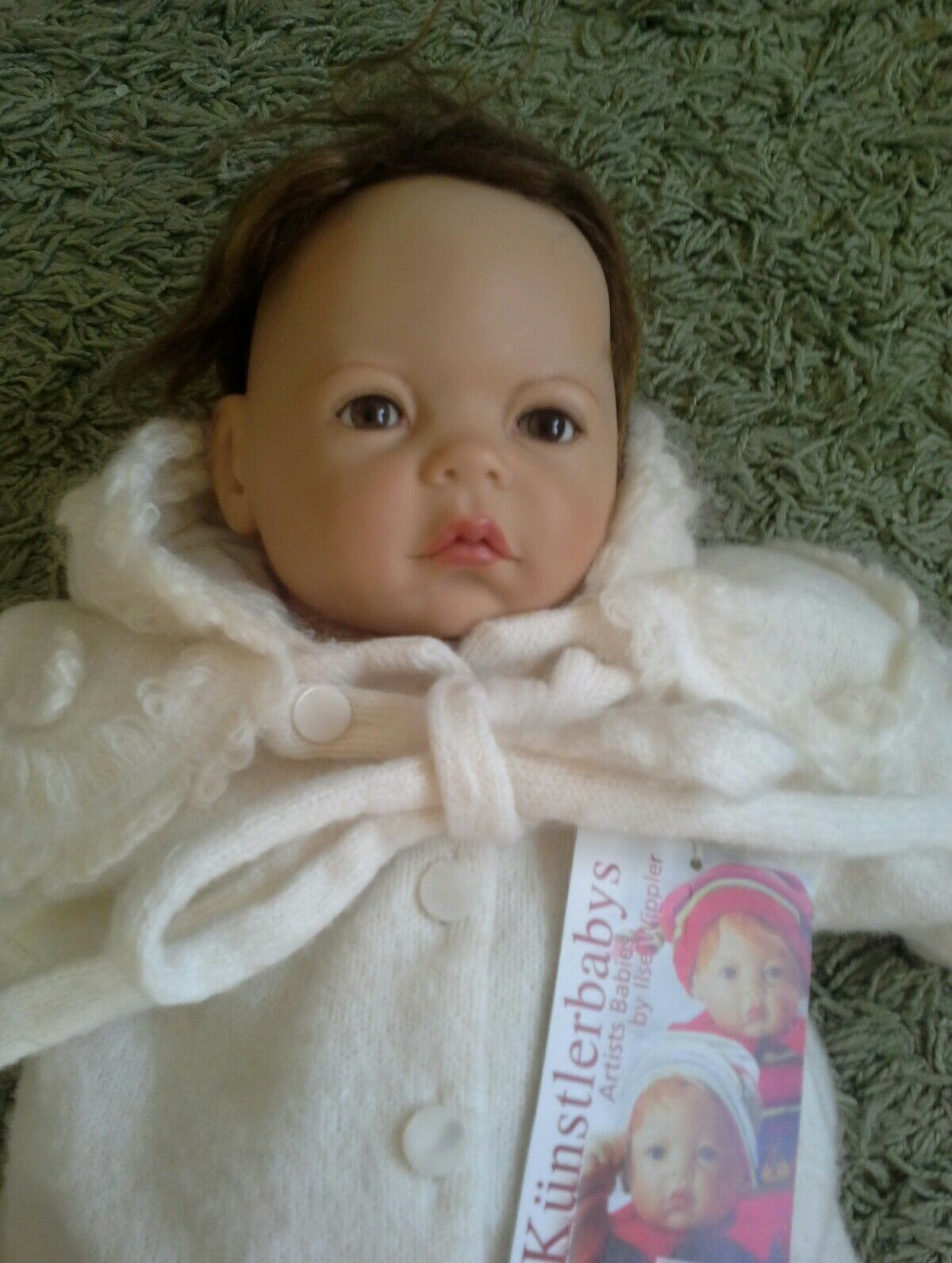 Sigikid Artist Babies By Ilse Wippler. Lara Stunning Baby Doll Rare Limited Ed