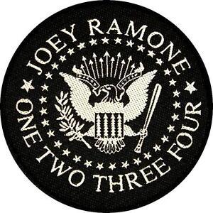 RAMONES-JOEY-RAMONE-AUFNAHER-PATCH-8-034-ONE-TWO-THREE-FOUR-034