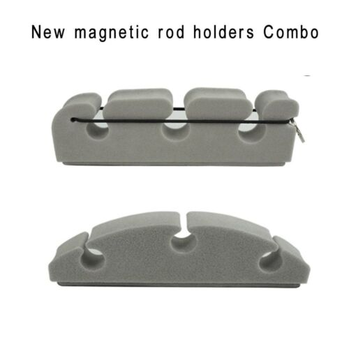 Aventik Magnetic Rod Holders Combo Pack 2 designs in 1 Pack Strong Magnetic New