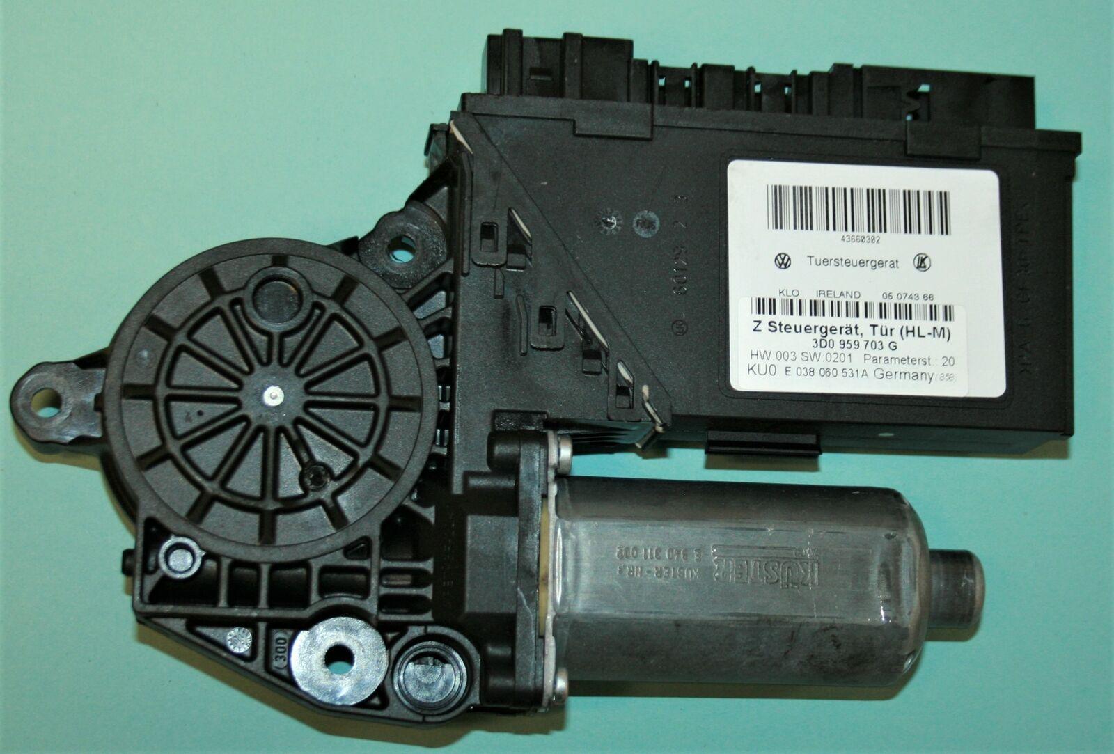 VW PHAETON 3D 2001-2014 FENSTERHEBER REPARATURSATZ VORNE LINKS NEU