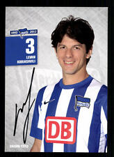 Levan Kobiashvili Autogrammkarte Hertha BSC Berlin 2012-13 Original Sig+A 105395