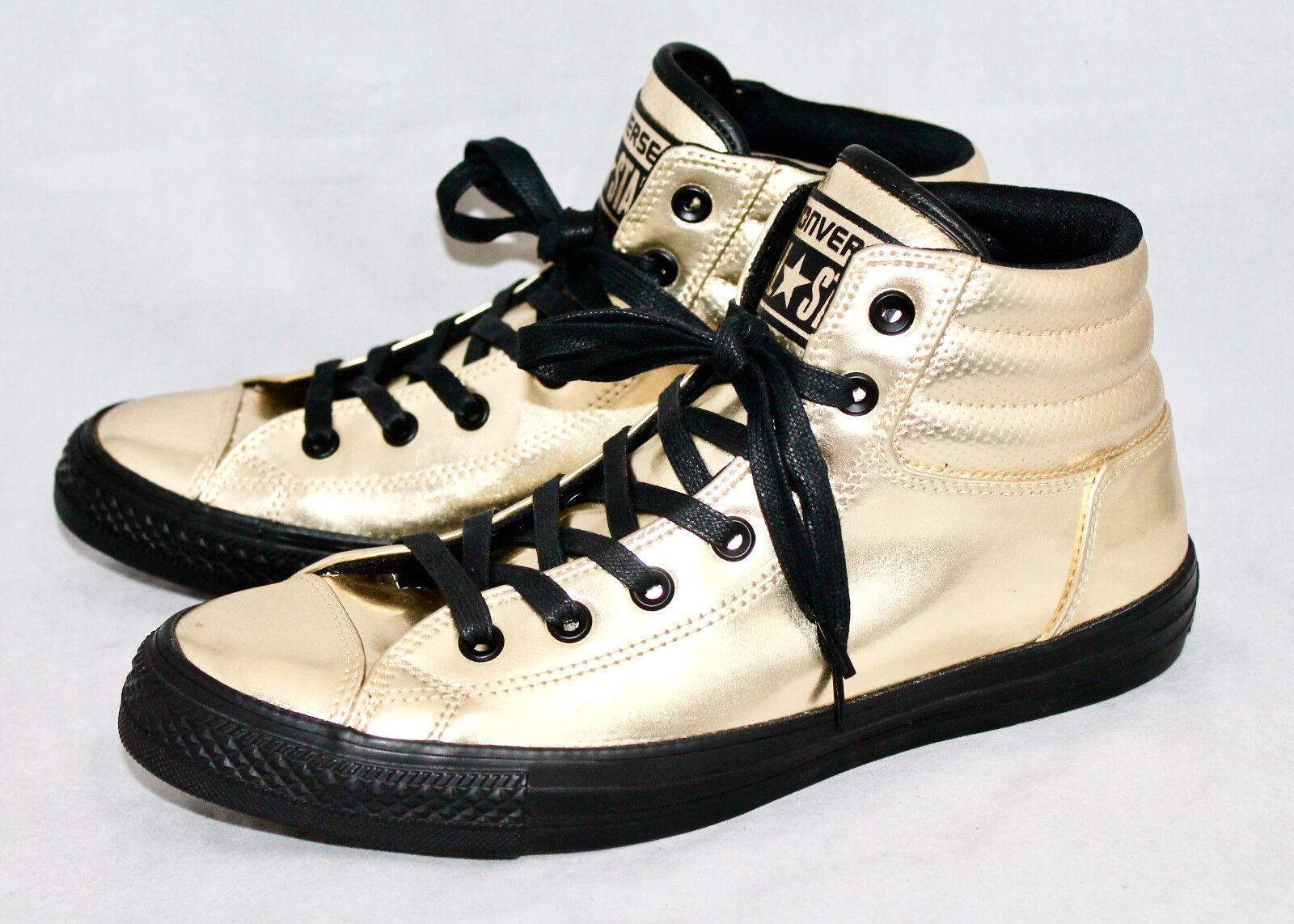 CONVERSE 152659C All Star Fresh Homme 10 Doré Mirror Hi Top Sneakers