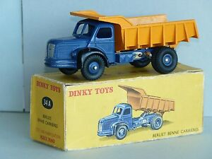 Dinky-Toys-Berliet-Benne-Carrieres