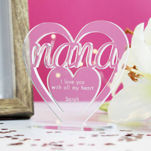 Personalised-Heart-with-Message-Ornament-Keepsake-Birthday-Nana-Mothers-Day-Gift