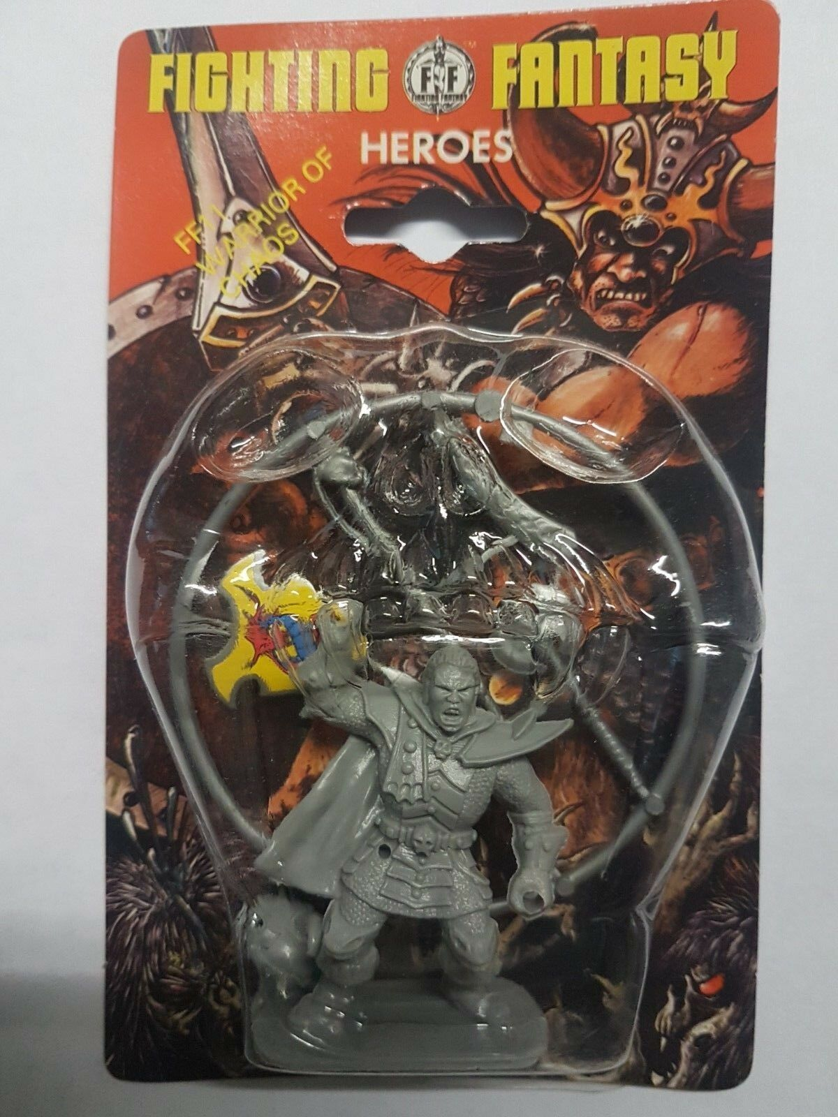 FF11 FF11 FF11 WARRIOR OF CHAOS - FIGHTING FANTASY HEROES - GAMES WORKSHOP - SEALED 2e3991