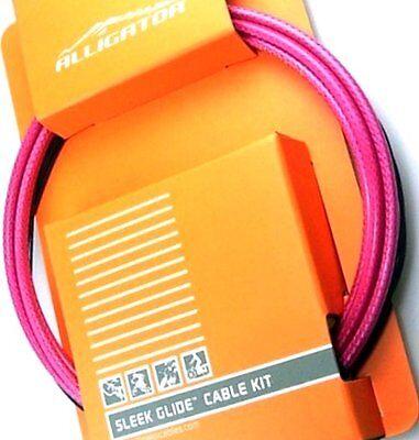 gobike88 Alligator Sleek Glide Rose Red shift cable set 115 LY-SPTRD
