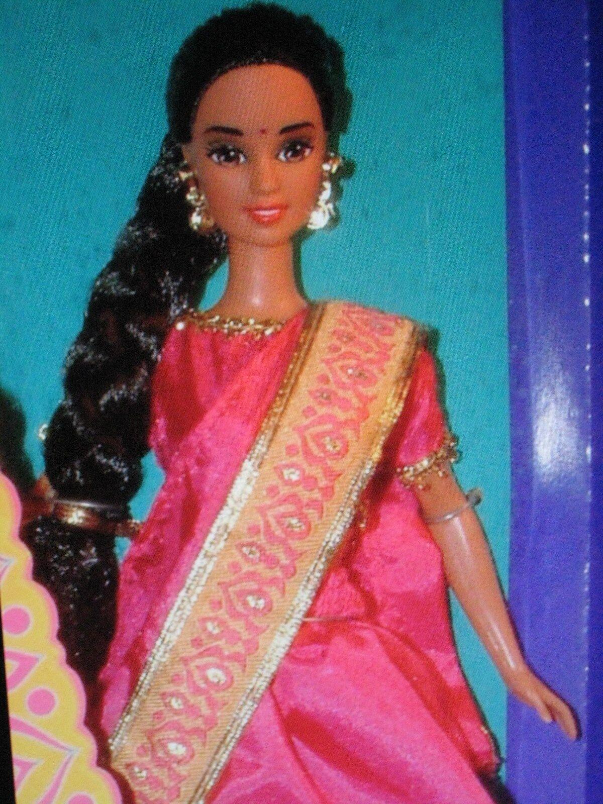 1995 Mattel Barbie Princesa India Muñecas Del Mundo
