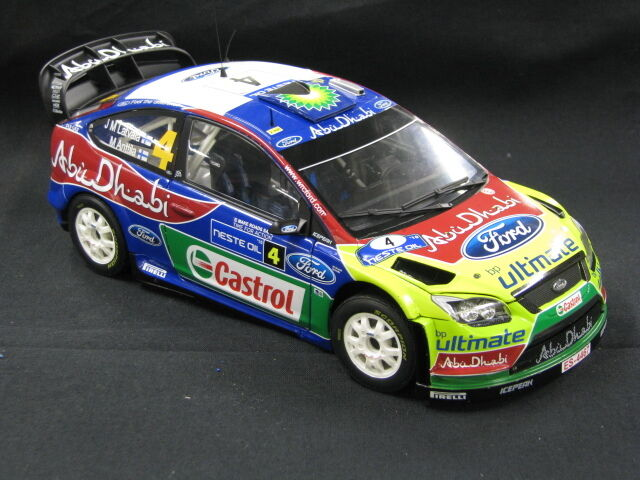 Sun Star Ford Focus RS WRC 2010 1:18  4 Latvala / Anttila Rally Finland  MCC